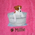 Have a Custom Towel made for your favorite 4-legged friend!